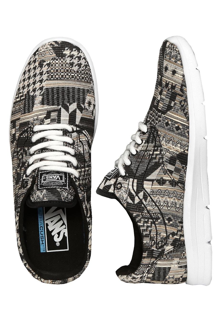 30799491081148 Vans - Iso 1.5 Italian Weave Black White - Girl Shoes - Impericon.com UK