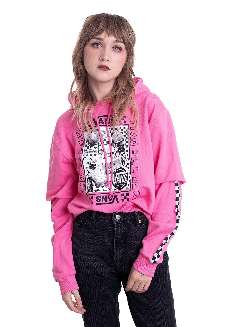 Vans Lady Vans Sting Azalea Pink Hoodie