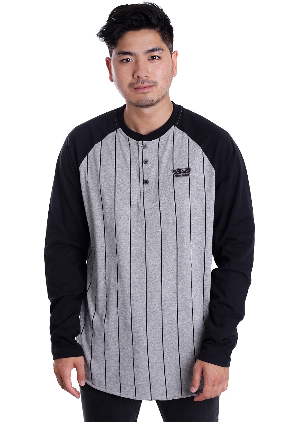 vans grey jumper