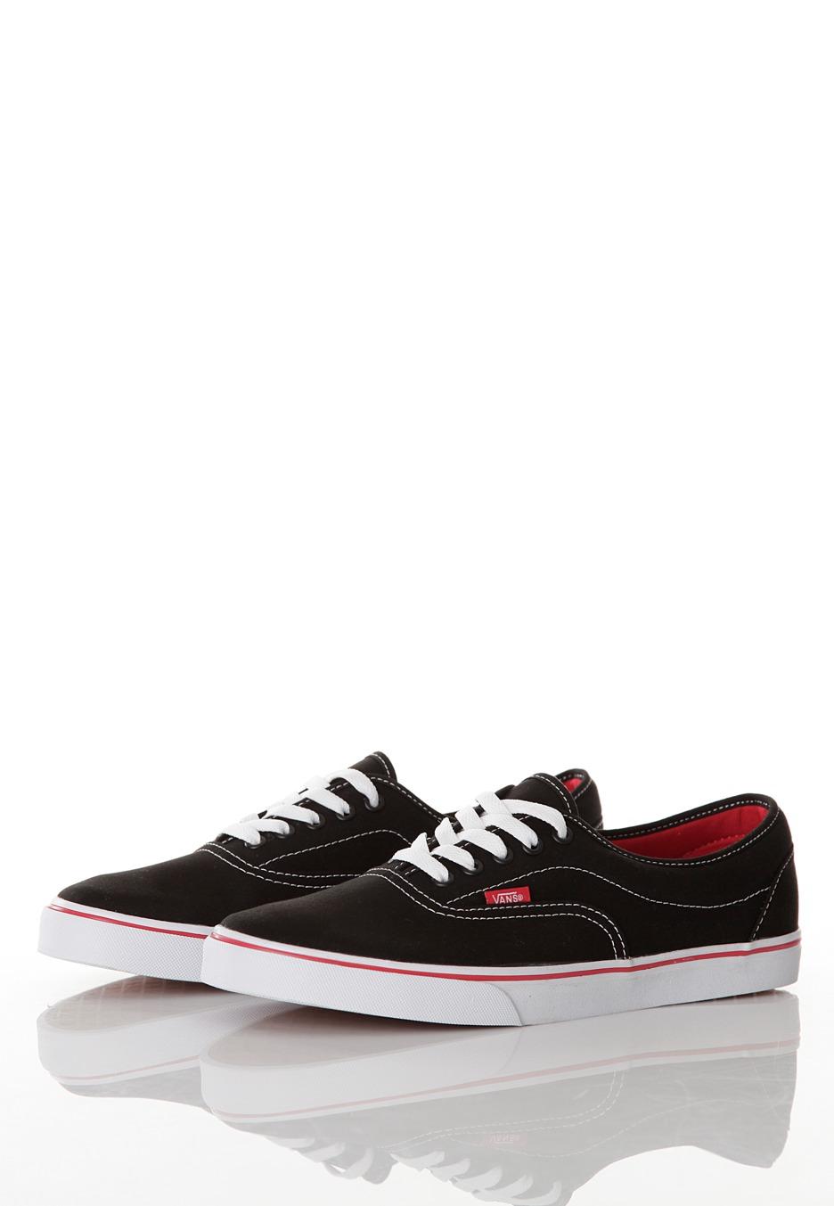 vans lpe blackred shoes impericoncom uk
