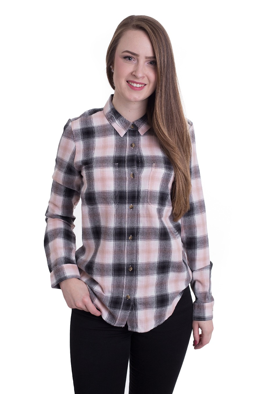 14768f5e Vans - Meridian Flannel English Rose - Shirt - Impericon.com Worldwide