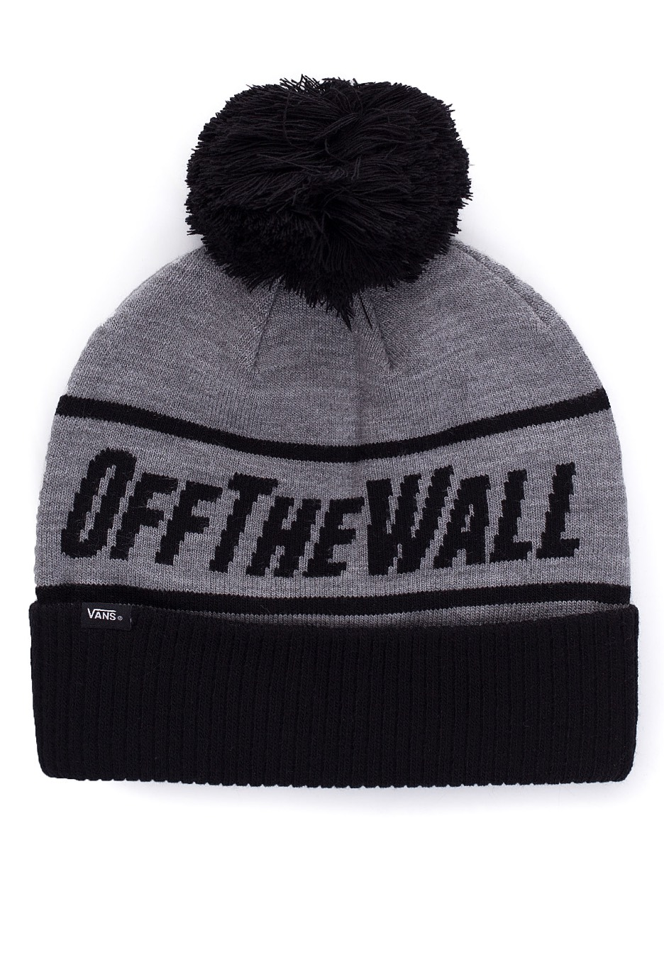 e2773aeb0e Vans - OFF THE WALL Heather Grey - Beanie - Impericon.com US