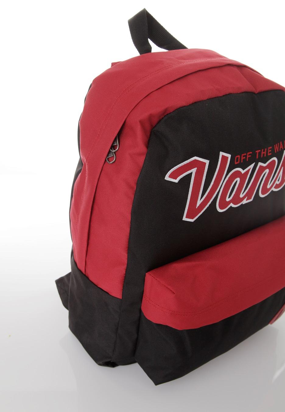Vans - Old Skool II Jester Red Black - Backpack - Impericon.com AU 1978ff4e86aff