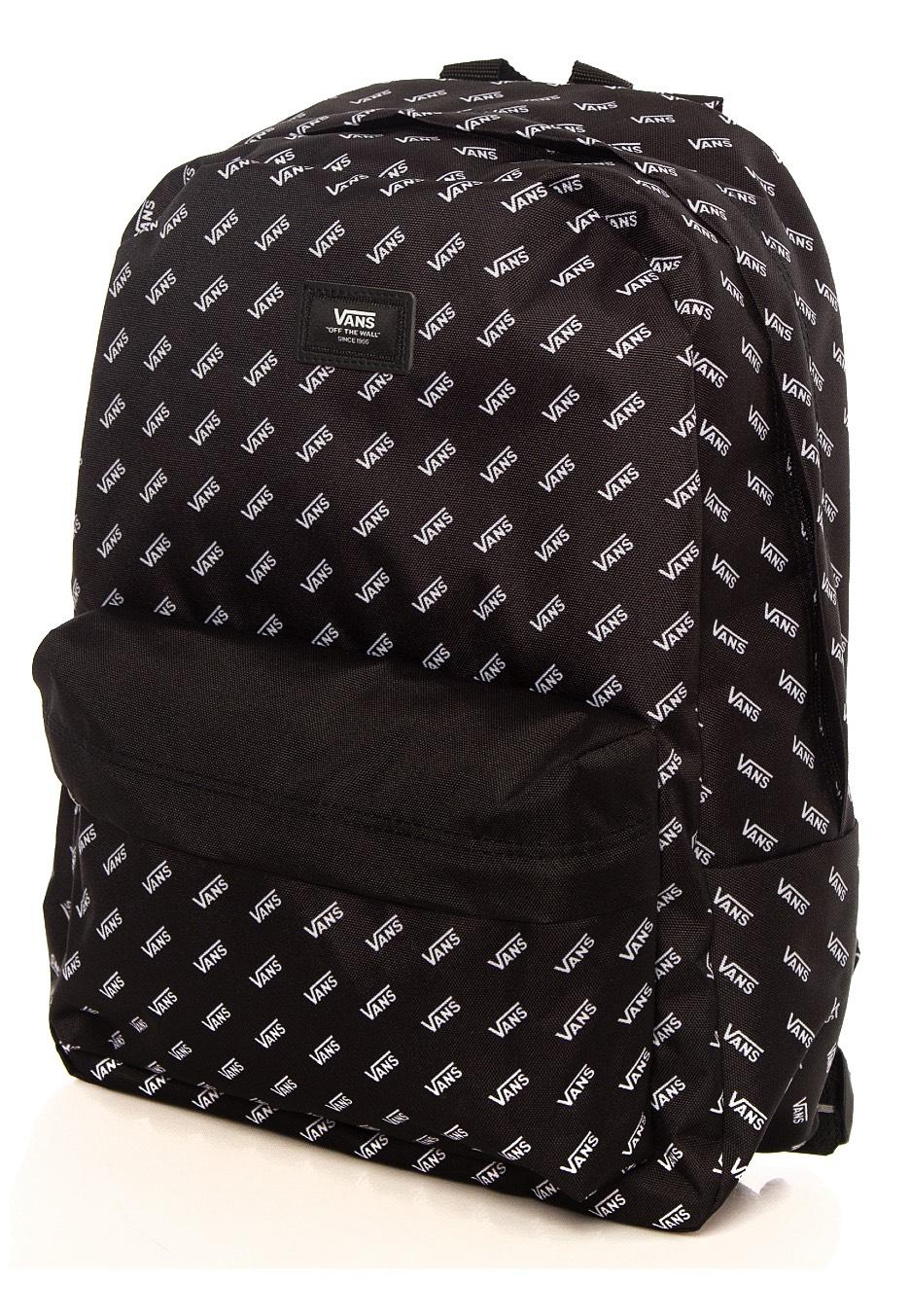 Vans Old Skool III Black Retro Vans Backpack