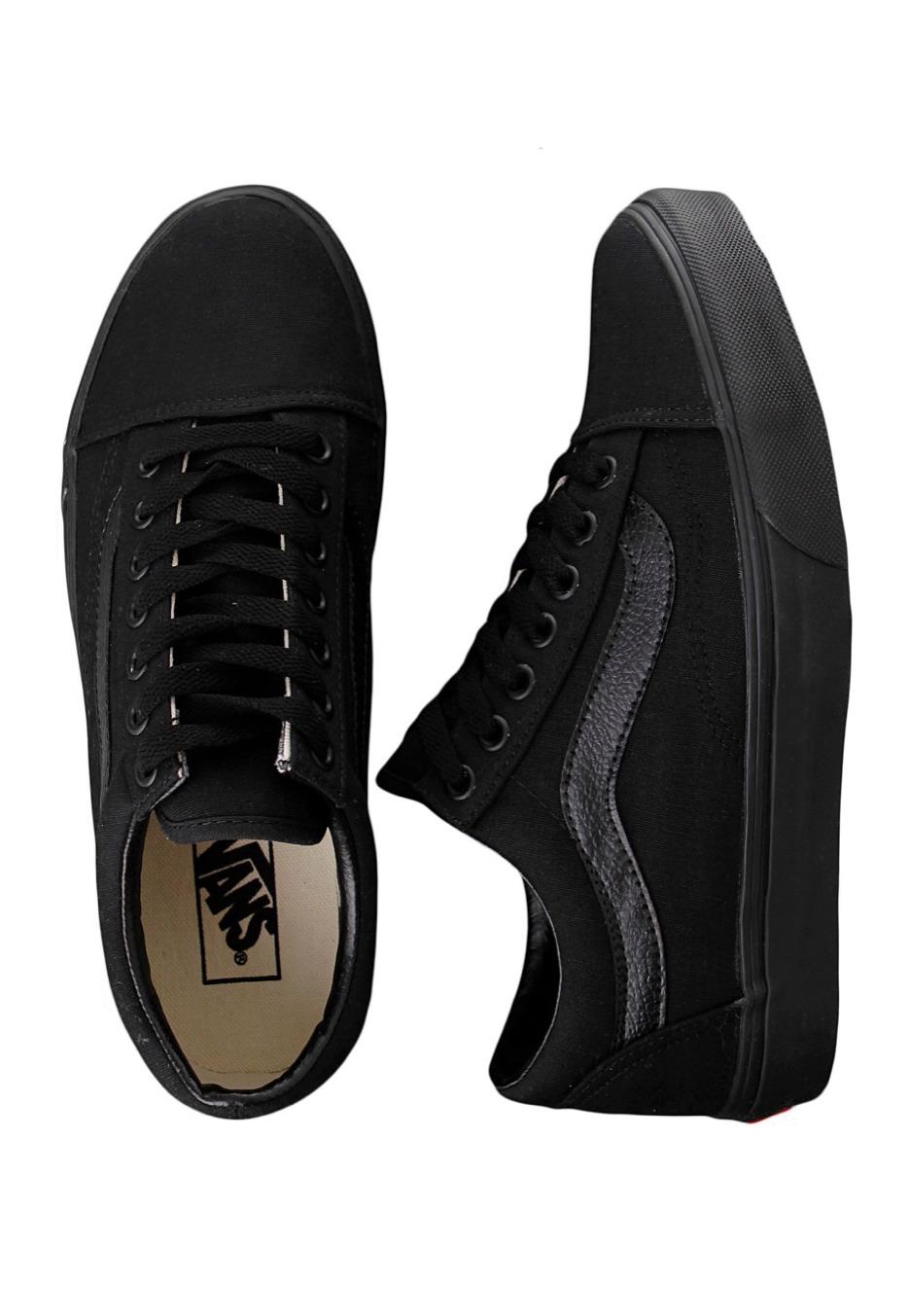 Vans - Old Skool Black Black - Girl Shoes - Impericon.com UK 52dd6fab0