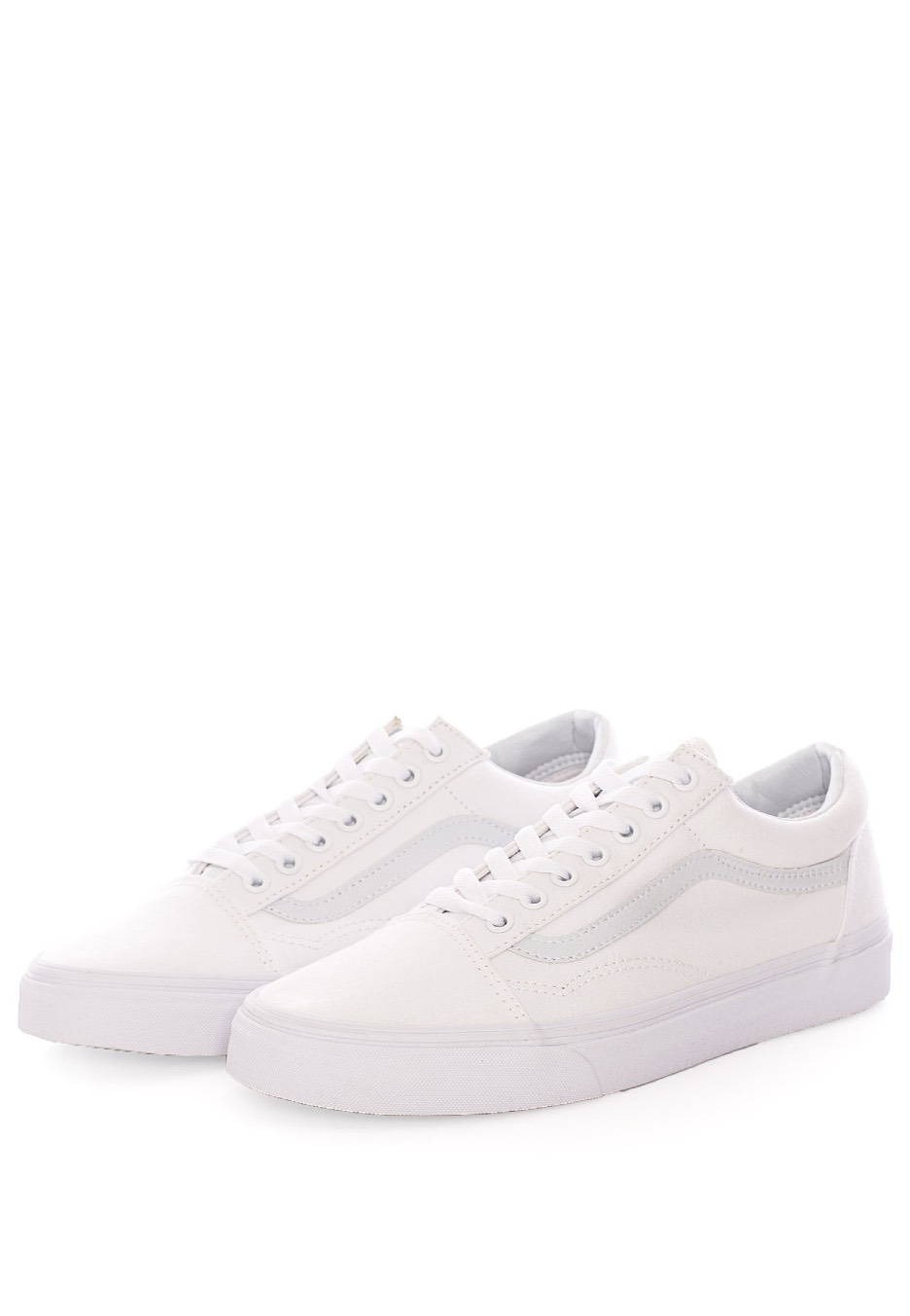 Vans - Old Skool Canvas/Synthetic True White - Shoes - Impericon ...