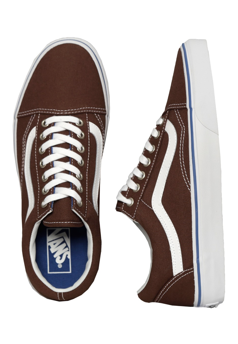 520accce3857 Vans - Old Skool Chestnut True White - Shoes - Impericon.com UK