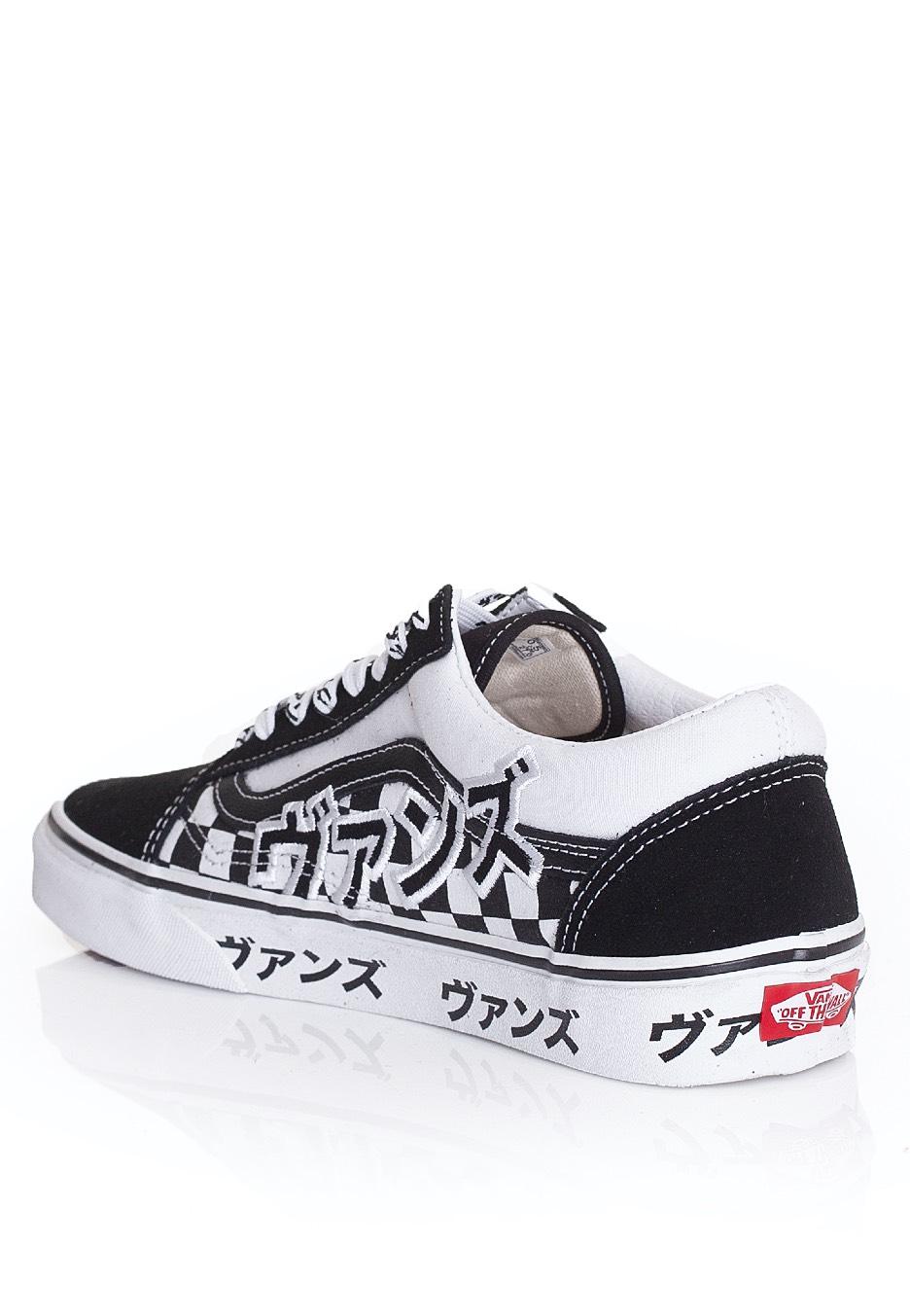 Vans - Old Skool (Japanese Type) Black/Tru - Shoes - Impericon.com US