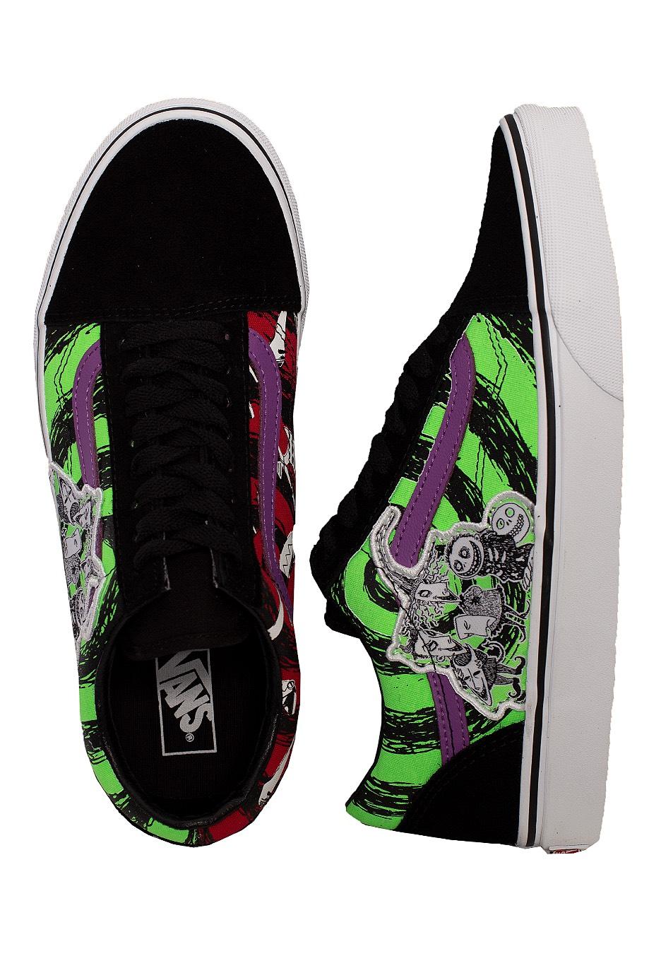 Vans X Nightmare Before Christmas Old Skool LSBNightmare Girl Shoes