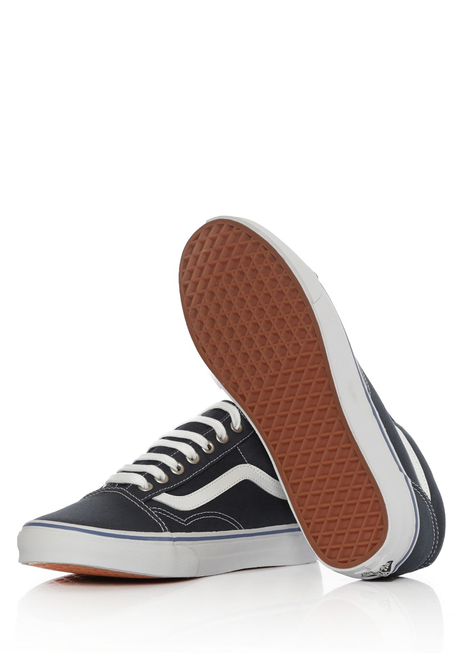 20042b92d1afbd Vans - Old Skool Midnight Navy True White - Shoes - Impericon.com AU