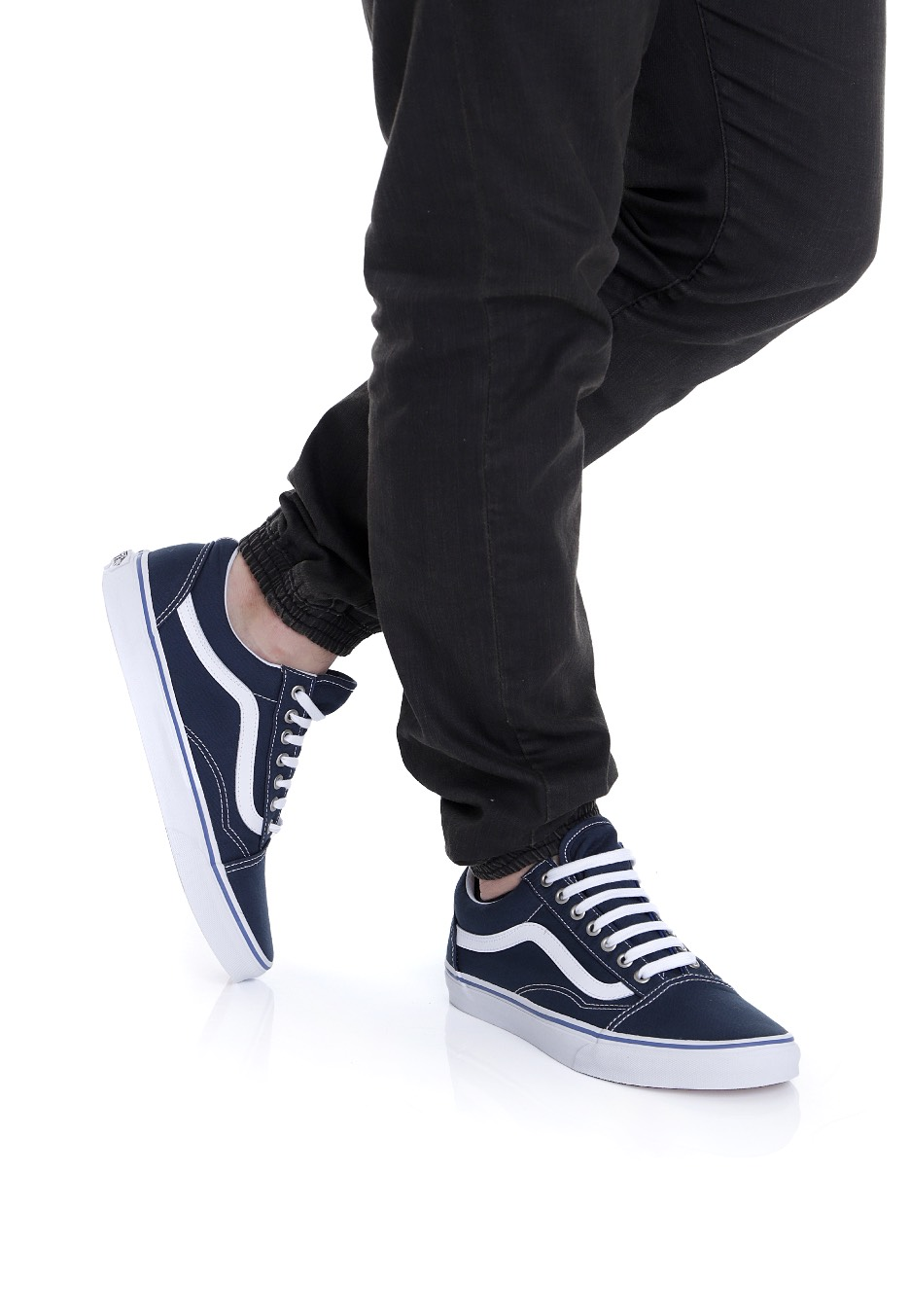 0953c4479b44 Vans - Old Skool Midnight Navy True White - Shoes - Impericon.com US