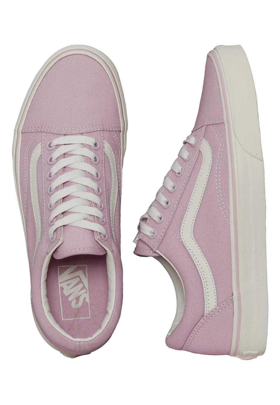 vans old skool roze