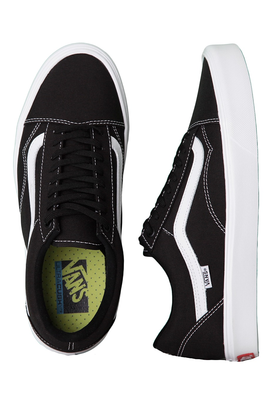 240f89d4dc225 Vans - Old Skool Lite Black/True White - Shoes - Impericon.com UK