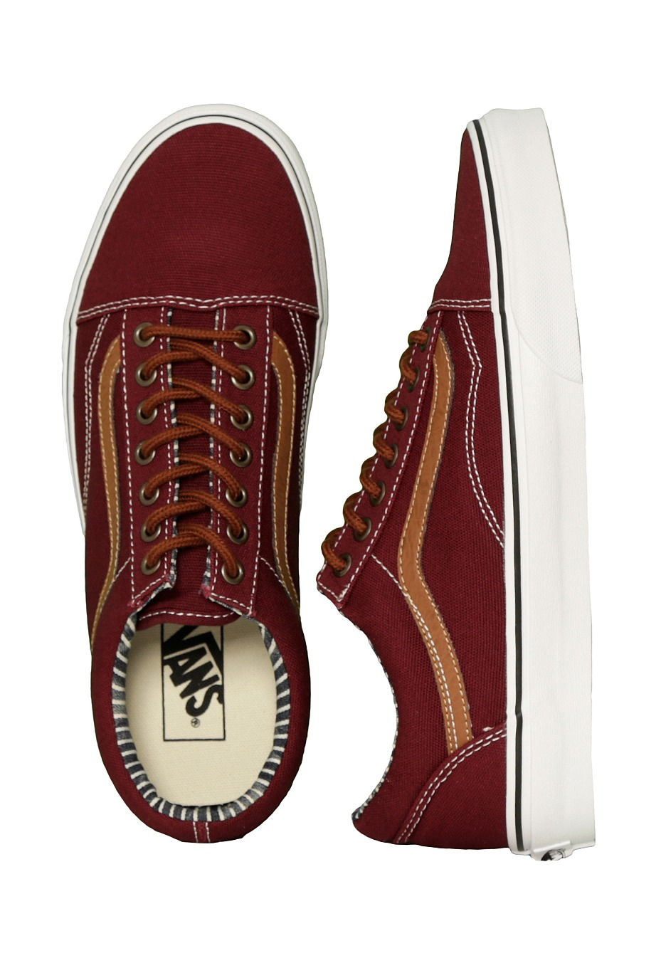 9bb8d6732f Vans - Old Skool C L Port Royale Stripe Denim - Shoes - Impericon.com UK