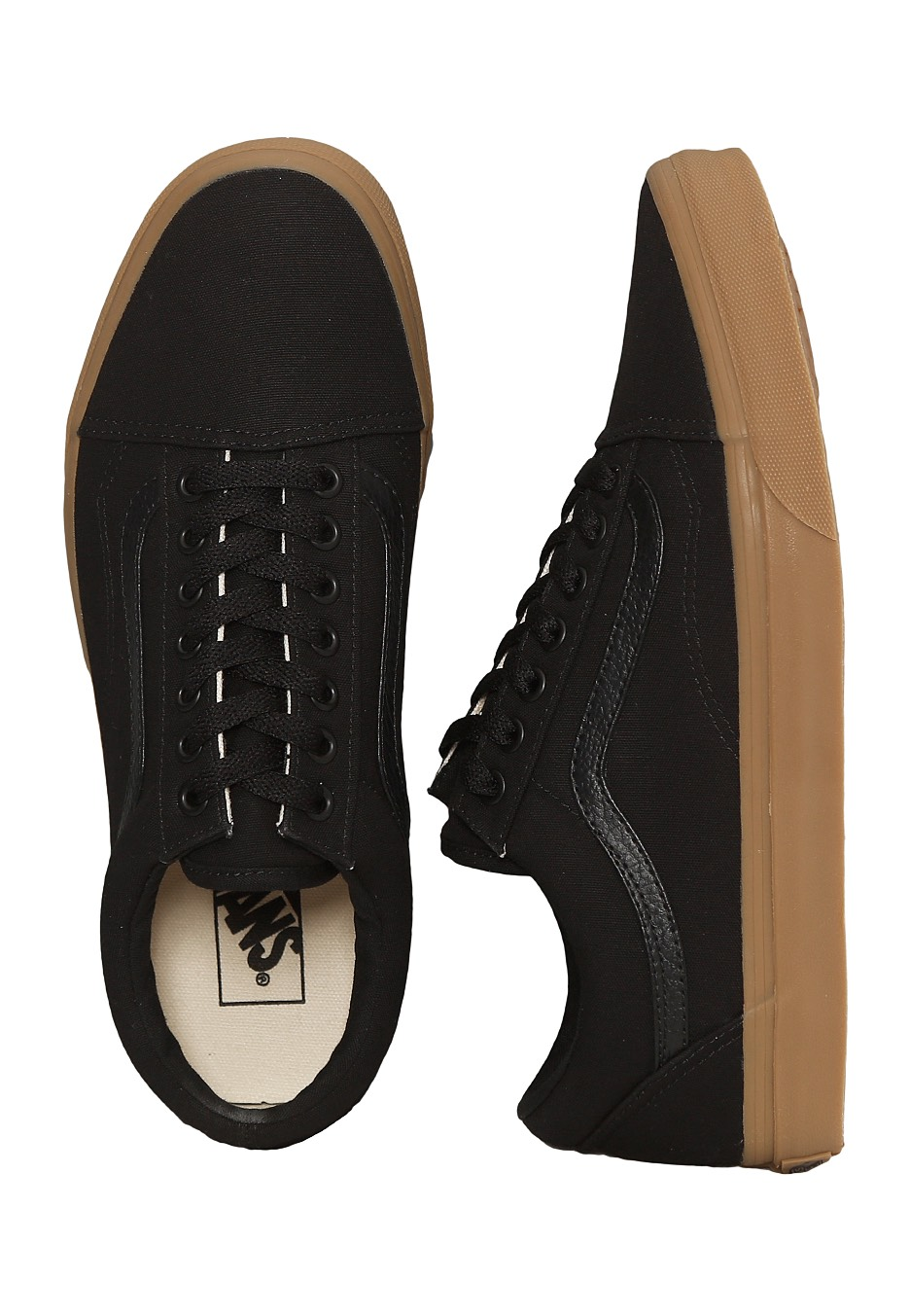 831c064d4644c1 Vans - Old Skool Canvas Gum Black Light Gum - Shoes - Impericon.com  Worldwide