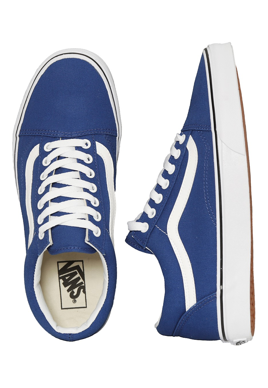 vans old skool canvas true blue