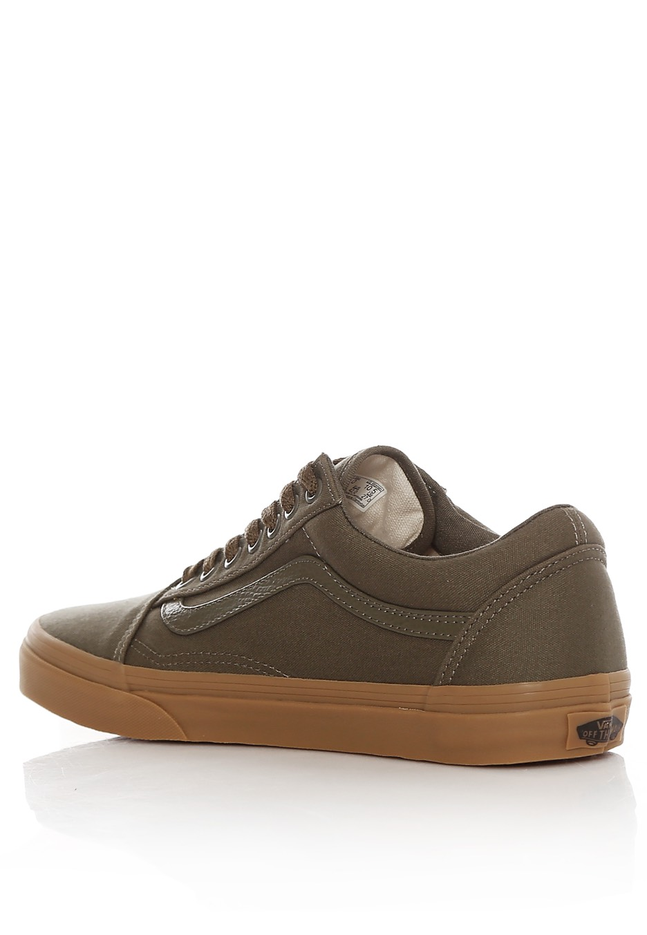 0faff085098248 Vans - Old Skool Canvas Gum Ivy Green Light Gum - Shoes - Impericon ...