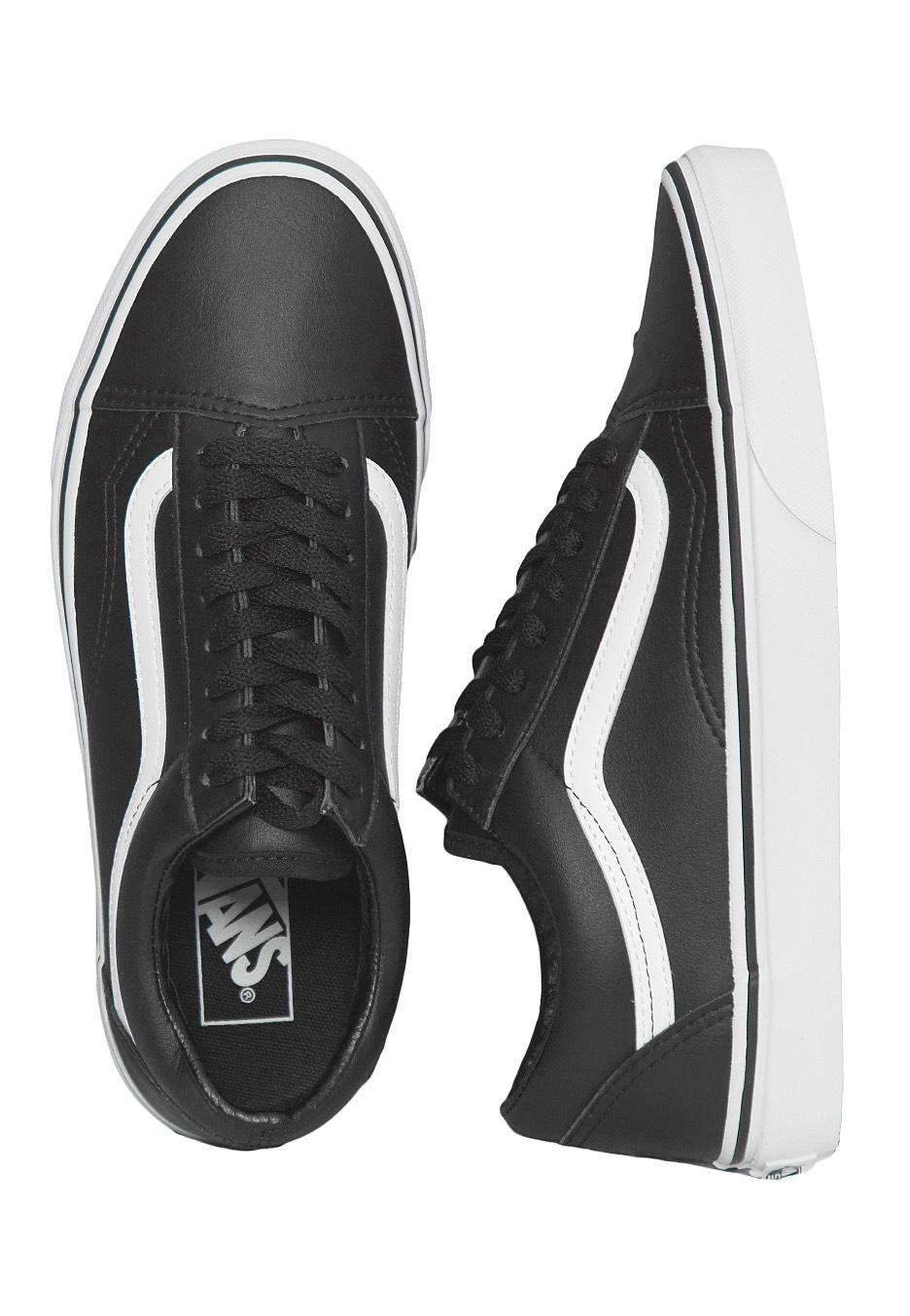 e4c68df6264 Vans - Old Skool Classic Tumble Black/True White - Shoes - Impericon.com US
