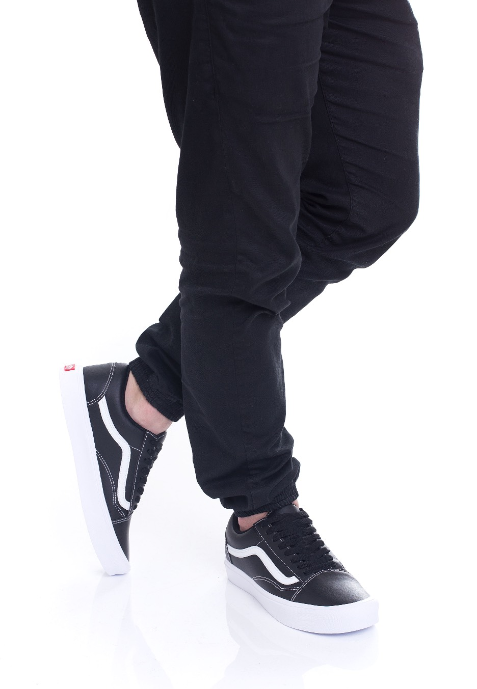 2ffed84e8c Vans - Old Skool Lite Classic Tumble Black True White - Schuhe ...