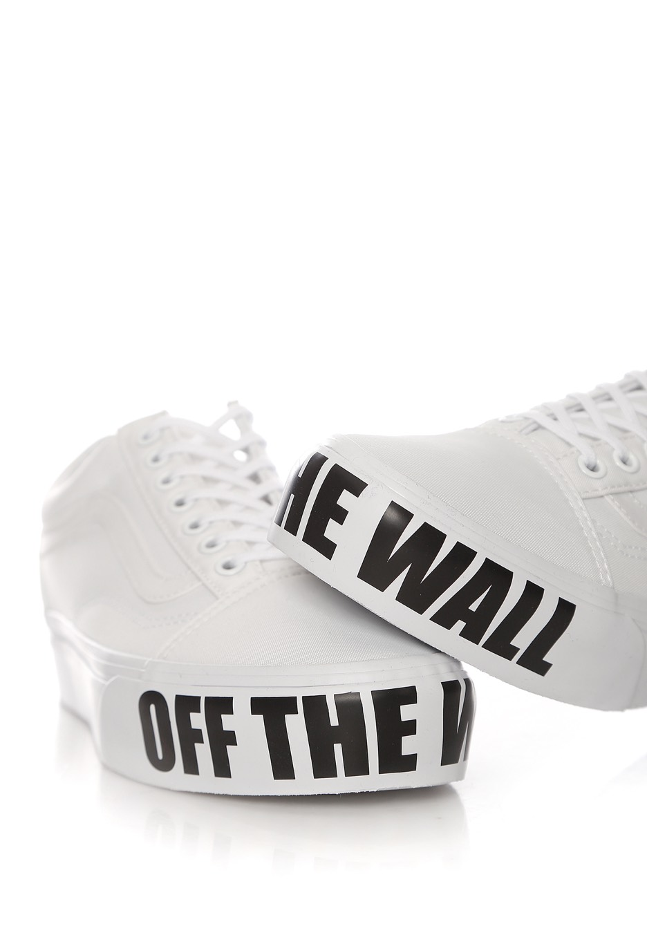 Vans Old Skool Platform Off The Wall Chaussures Pour