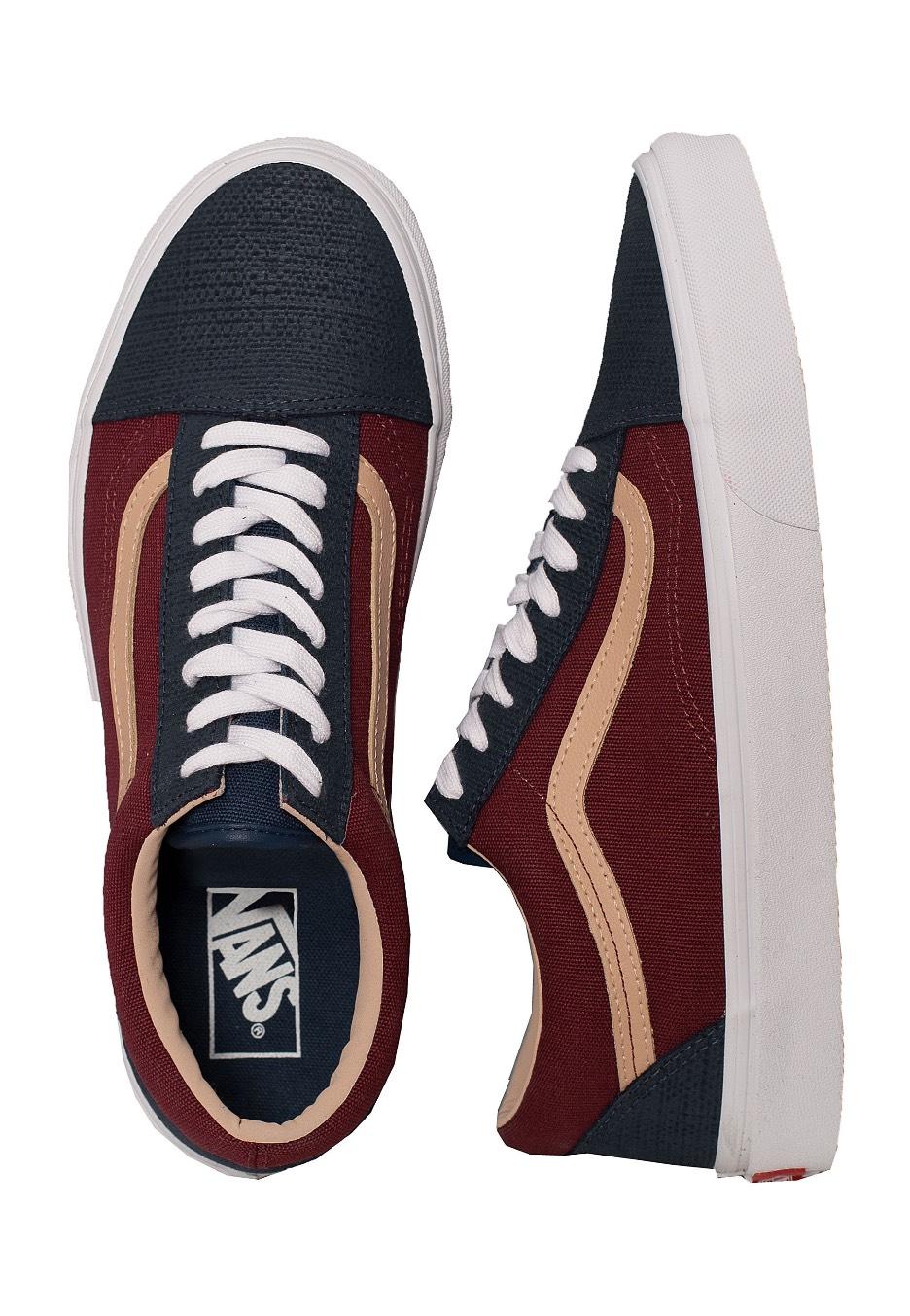 550b374eb7e2 Vans - Old Skool Textured Suede Sailor Blue - Shoes - Impericon.com AU