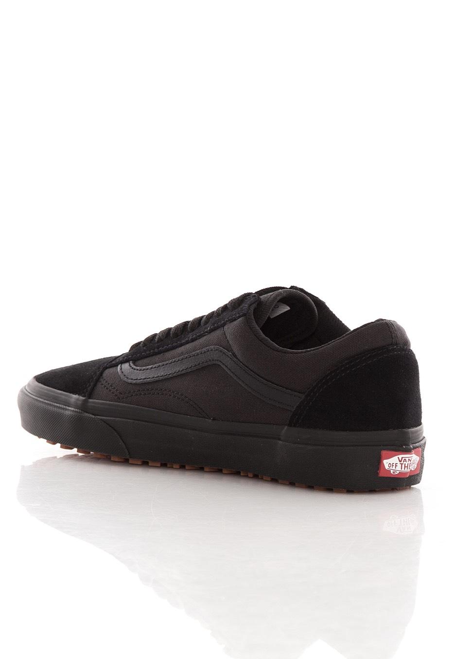 van black shoes