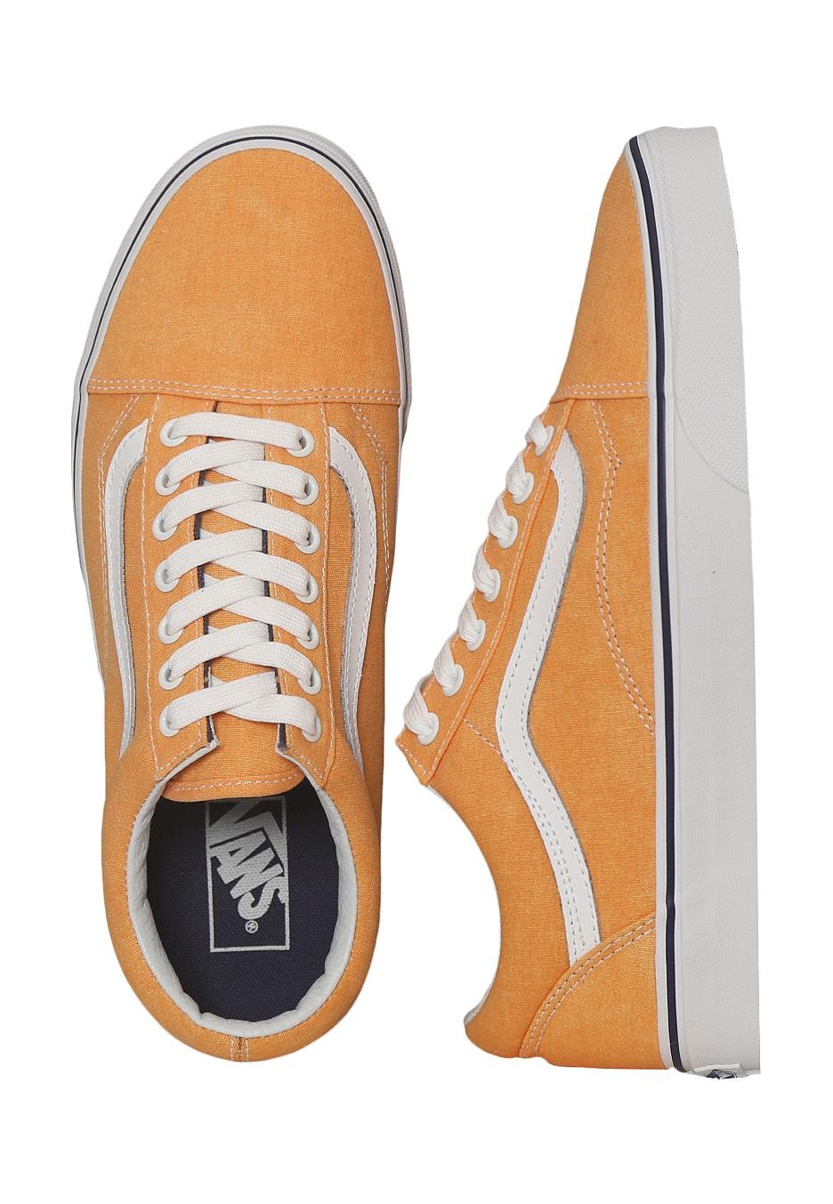91421a0d9402 Vans - Old Skool Washed Canvas Citrus Crown Blue - Shoes - Impericon.com UK