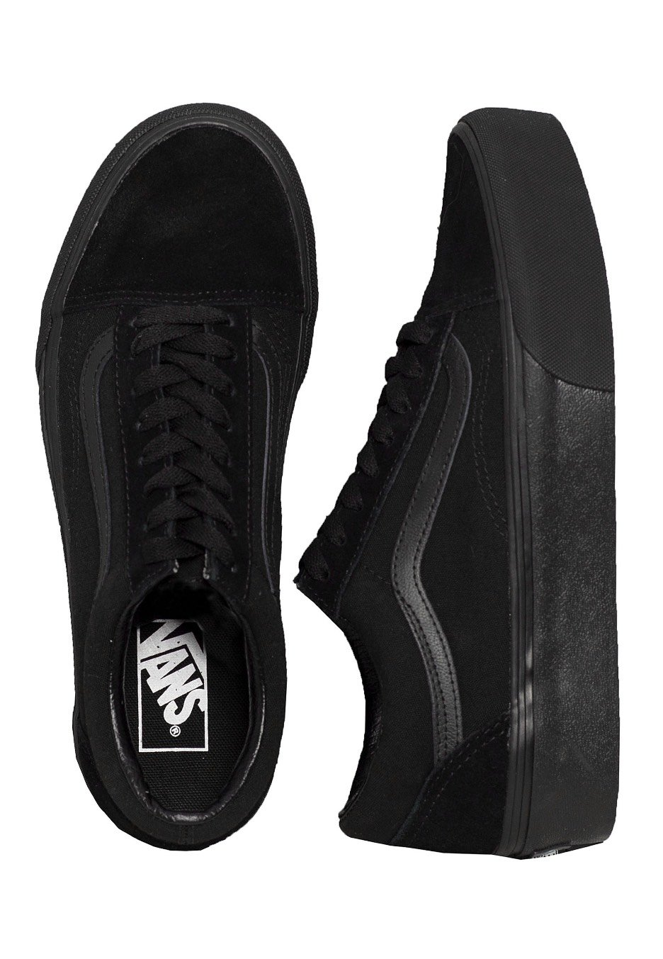 ecc700aa2f7 Vans - Old Skool Platform Black Black - Girl Shoes - Impericon.com Worldwide