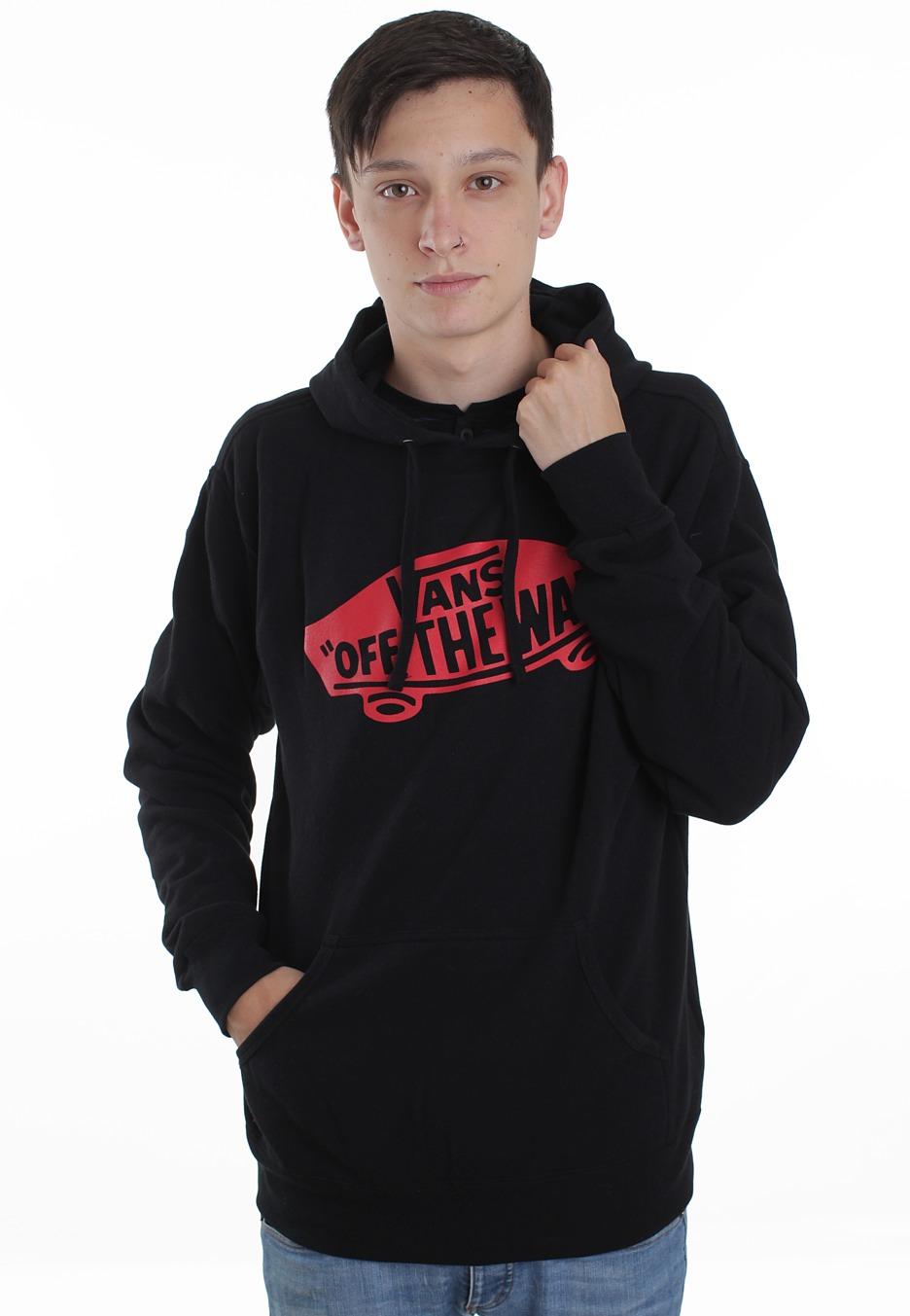 d7de1cf7ce Vans - OTW Pullover Black Red - Hoodie - Impericon.com Worldwide