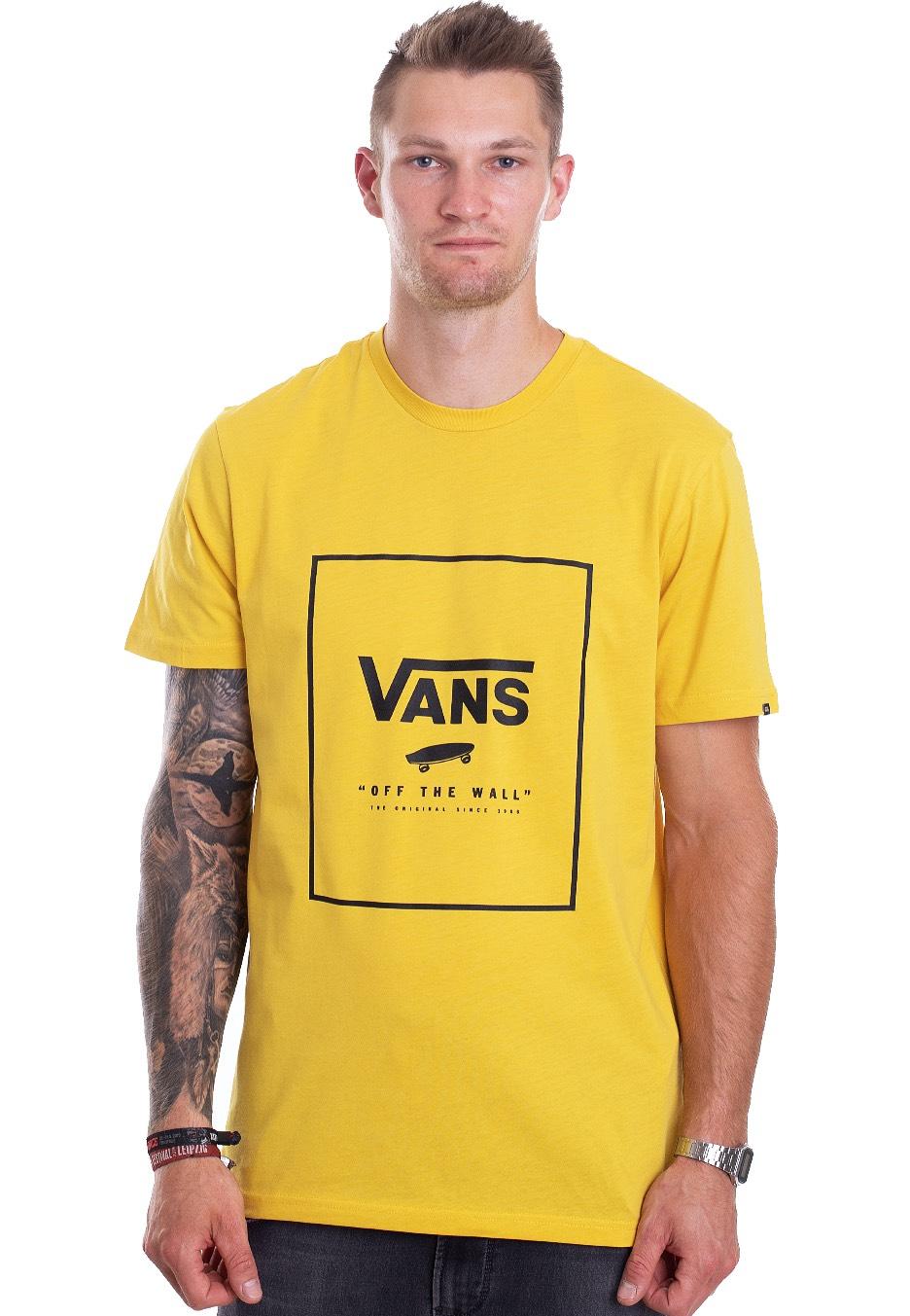 c061e631 Vans - Print Box Sulphur/Black - T-Shirt