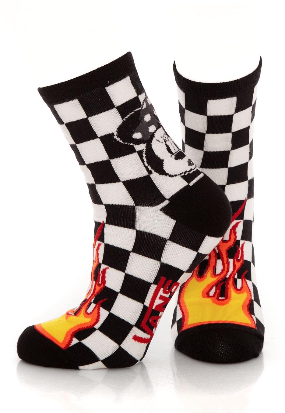 b503d85044ab Vans x Disney - Punk Mickey Crew Black - Socks - Impericon.com Worldwide