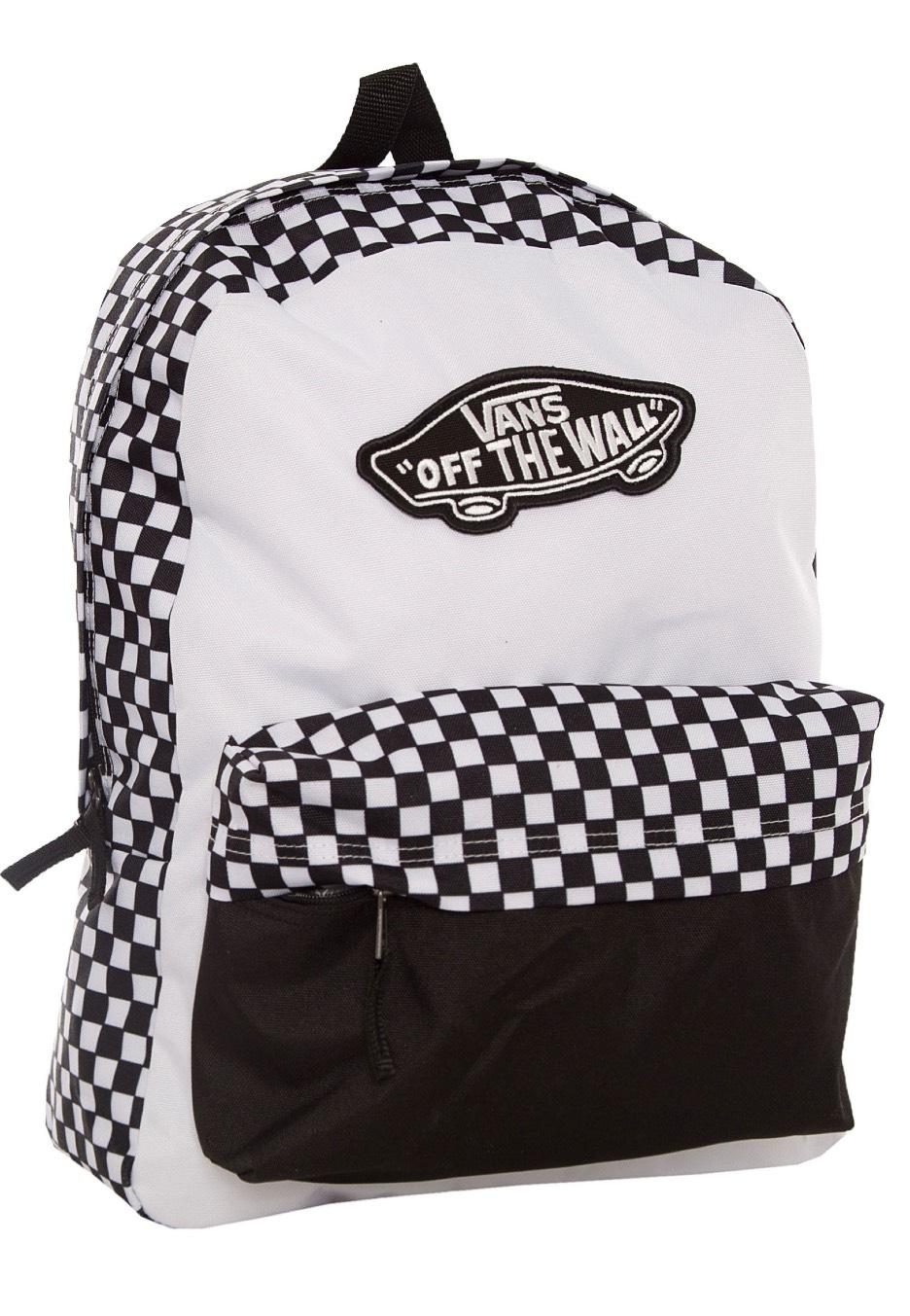 3794ba5812b Vans - Realm Black/White - Backpack - Impericon.com Worldwide