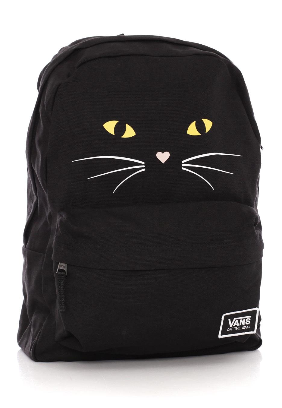 Vans - Realm Classic Black Cat - Backpack - Impericon.com UK 4941ef1b84857
