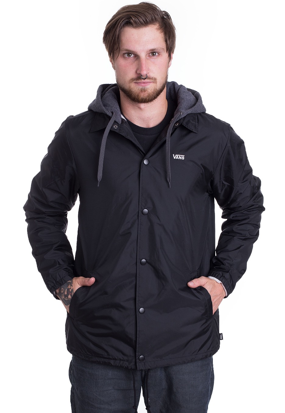 6521e7710e5 Vans - Riley Black - Jacket - Impericon.com UK