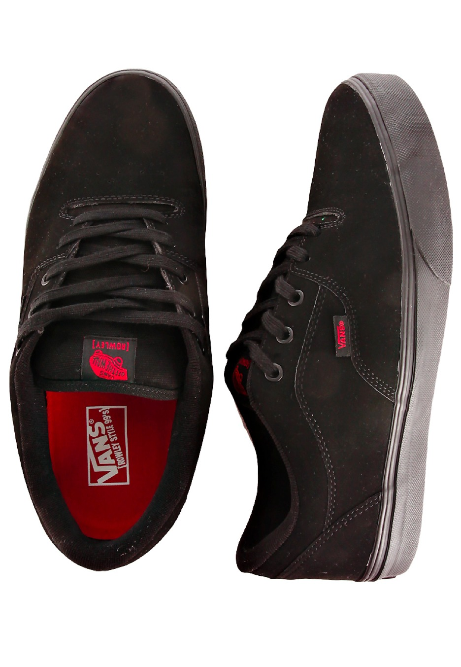 fad51d7195 Vans - Rowley Style 99s Black Synthetic - Shoes - Impericon.com AU