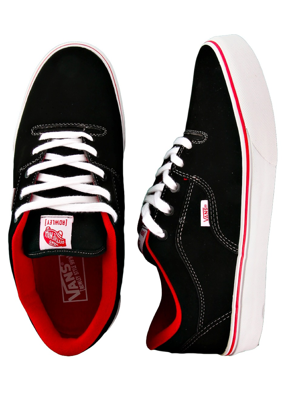 UK Vans Synthetic BlackWhite Shoes Style Rowley 99s 6ygYfb7v