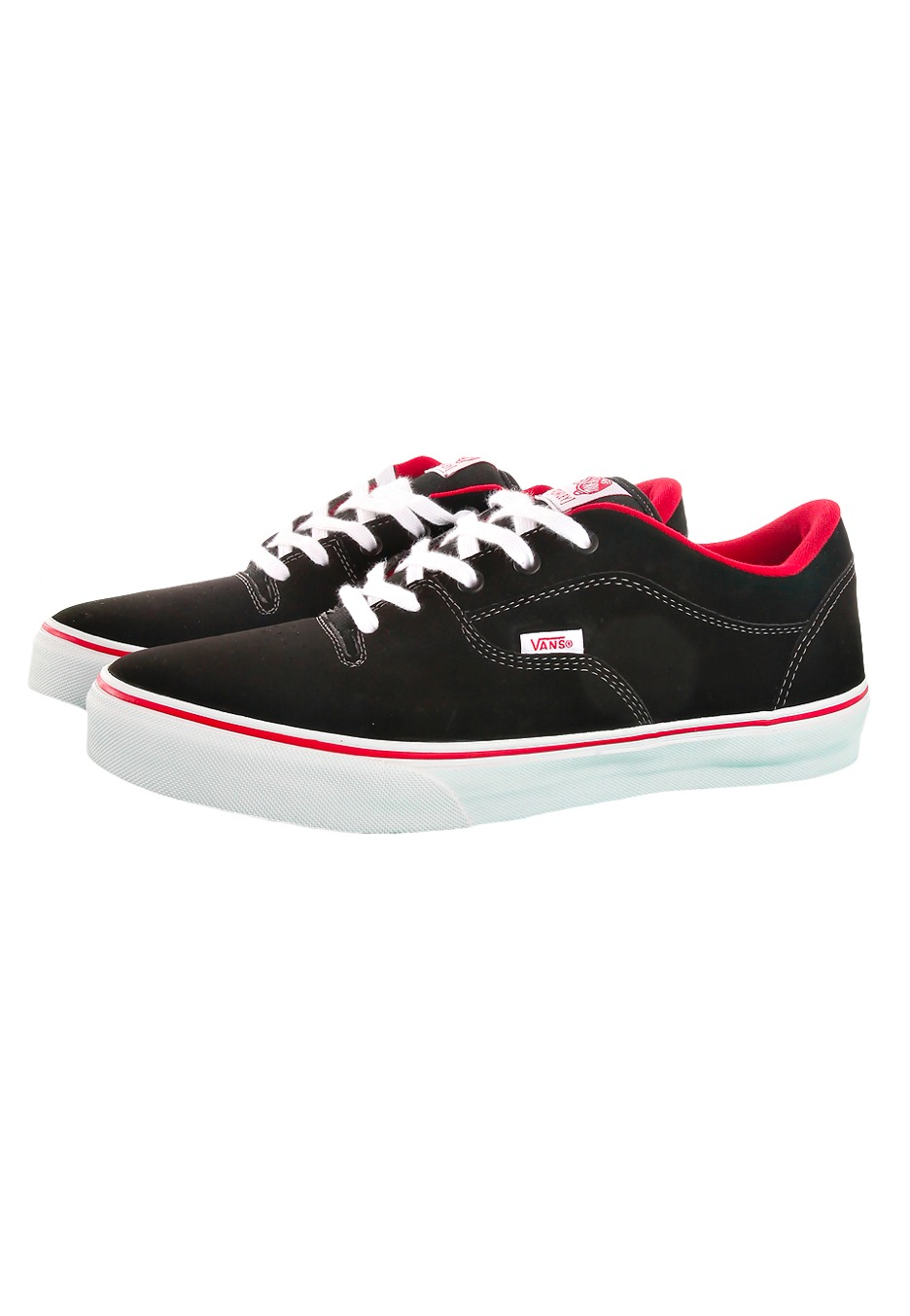 a10b85f46f Vans - Rowley Style 99s Black White Synthetic - Kengät - Impericon ...