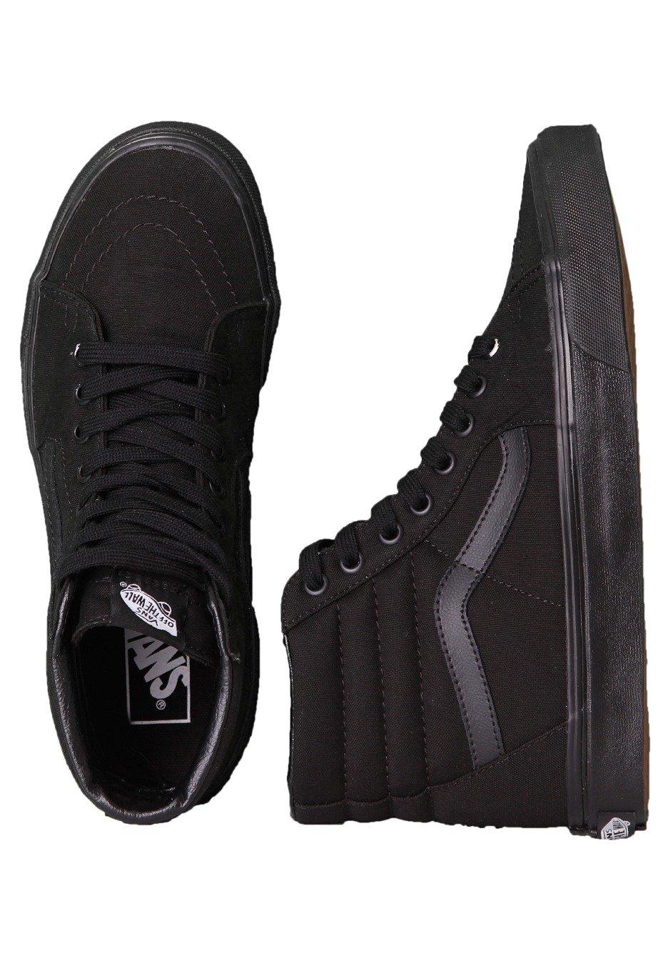 72e331945b Vans - Sk8-Hi Black Black Black - Girl Shoes - Impericon.com UK