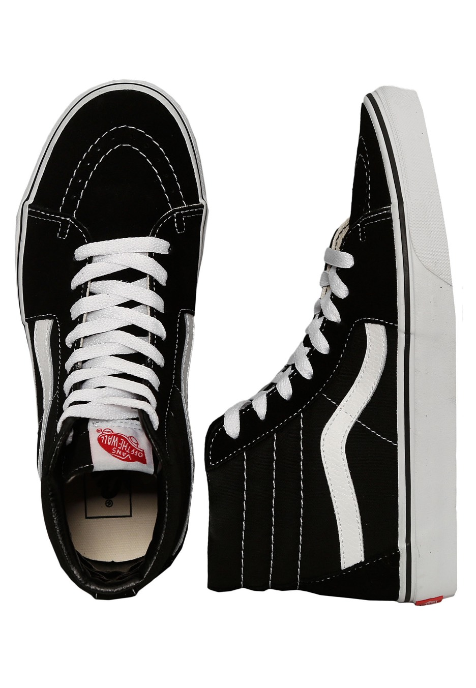 Vans - Sk8-Hi Black Black White - Shoes - Impericon.com Worldwide cedc993f3