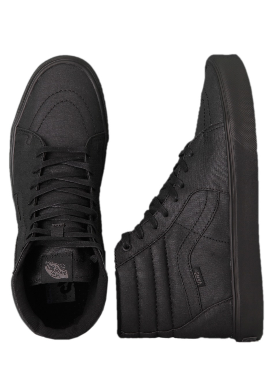 c7c0d5f3b8 Vans - Sk8-Hi Lite Black Waxed Canvas - Shoes - Impericon.com Worldwide