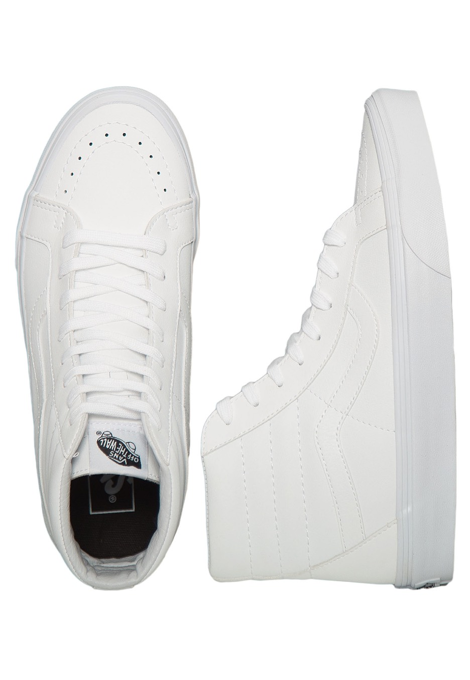 Vans - SK8‐Hi Reissue Classic Tumble True White - Shoes - Impericon ... 0c330c26f21