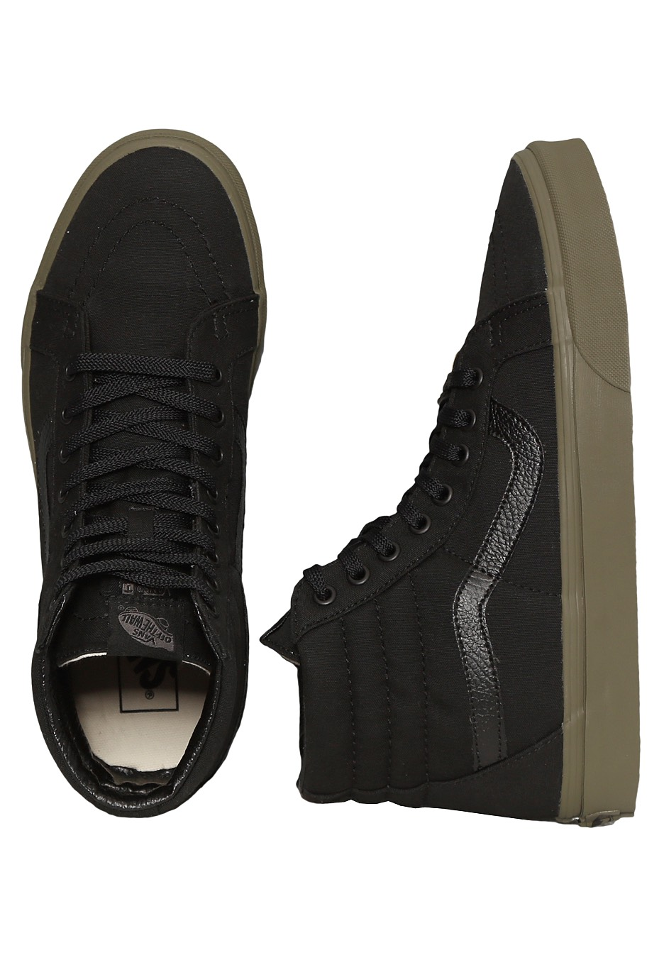 Vans - Sk8-Hi Reissue Vansguard Black Ivy Green - Shoes - Impericon.com  Worldwide e7292ad75d