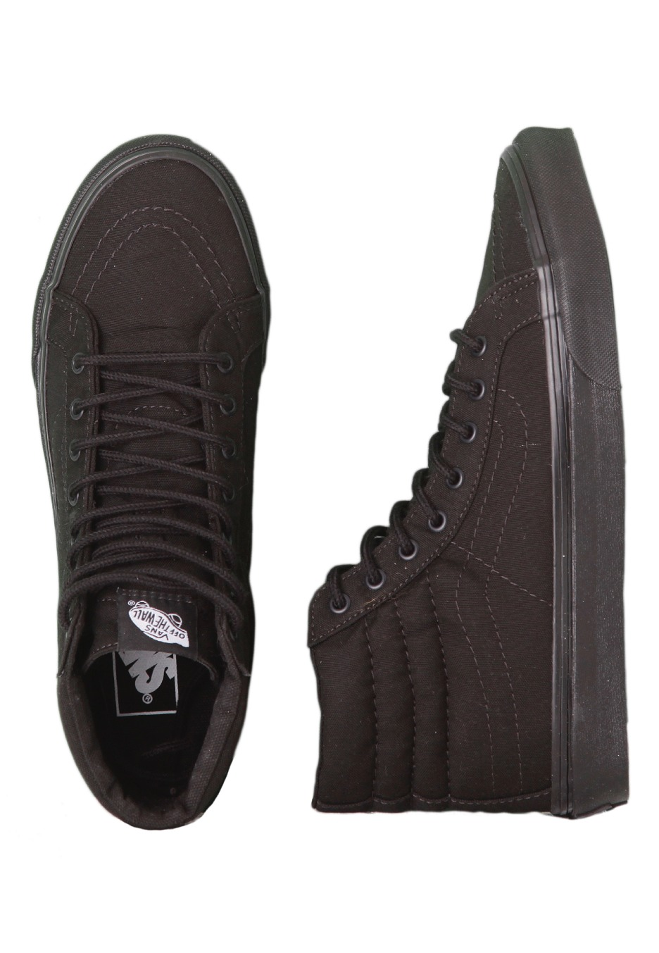 6423c23cd3 Vans - SK8-Hi Slim Black Black - Girl Shoes - Impericon.com UK