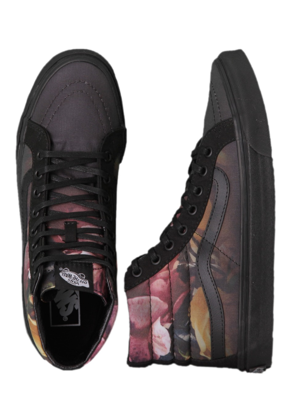 af0174c5eea503 Vans - Sk8-Hi Slim Ombre Floral Black Black - Girl Shoes - Impericon.com UK