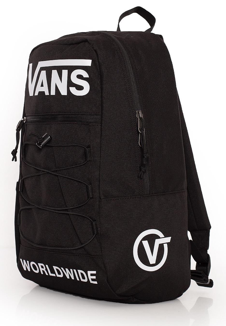 Vans Snag Backpack Black Distortion Mochila