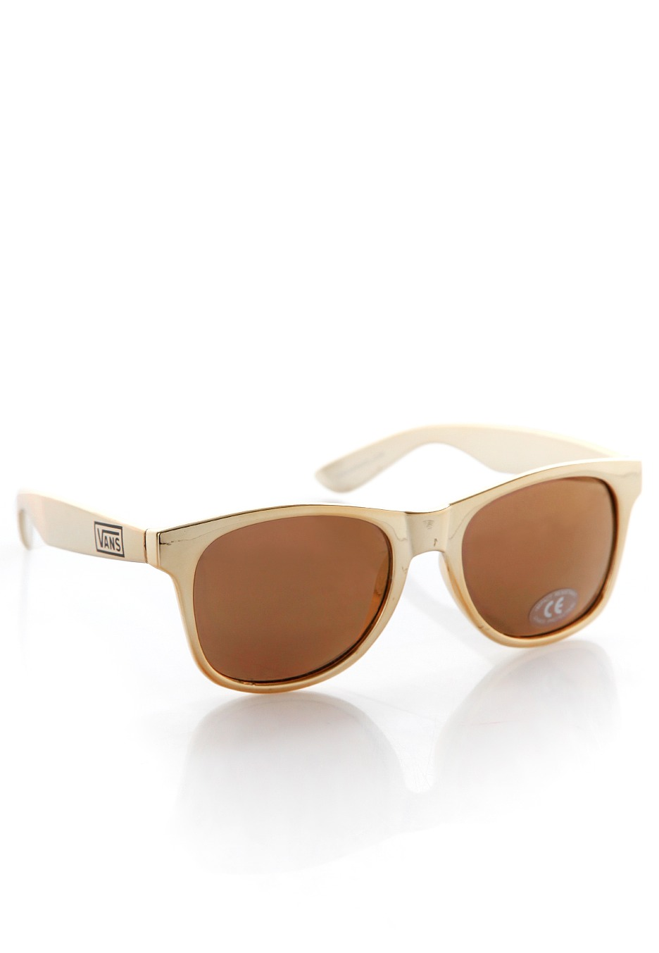 Vans - Spicoli 4 Shades Metallic Gold - Sunglasses - Impericon.com UK a318b48523