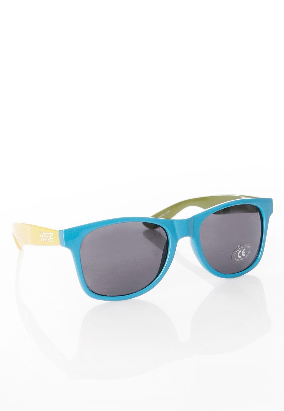 e523bc725c Vans - Spicoli 4 Shades Pear Malibu Blue Lemon Chrome - Sunglasses -  Impericon.com UK