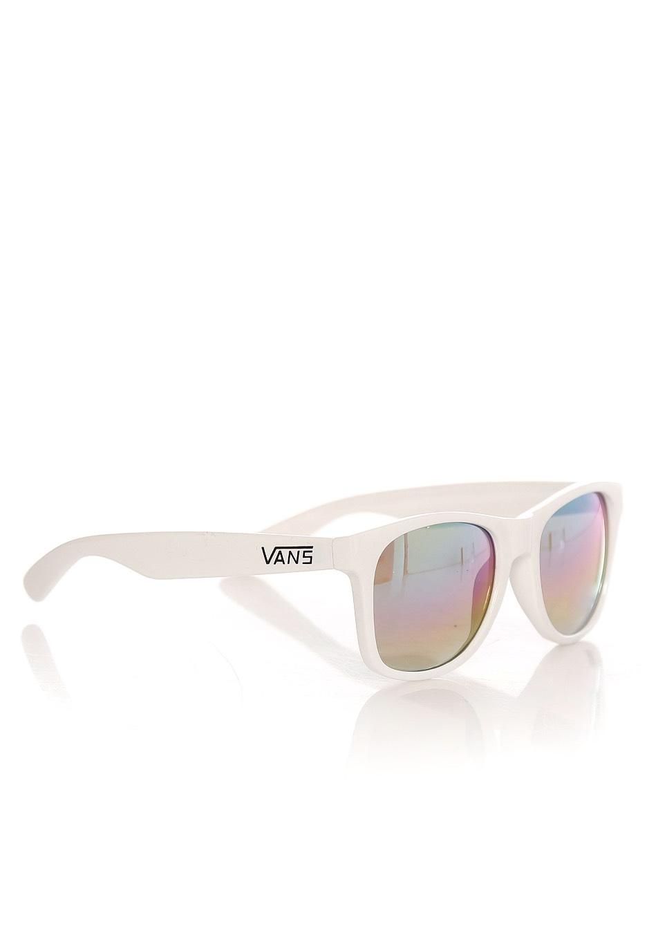 b1197a74b8cd Vans - Spicoli 4 Shades White/Rainbow Mirror - Sunglasses - Impericon.com UK
