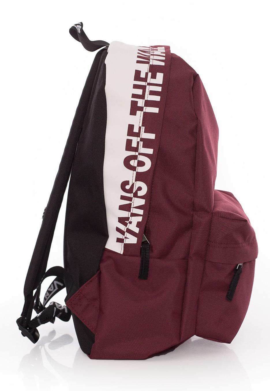 47351050911 Vans Sporty Realm Backpack Burgundy- Fenix Toulouse Handball