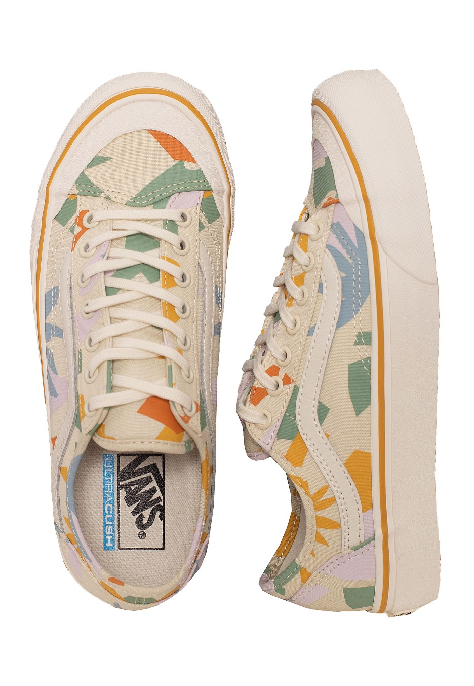 Vans Style 36 Decon Sf Leila Hurst Abstract Chaussures pour fille